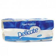 Papel Higiênico Pacote 64 Rolos x 30m Delicate Azul