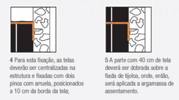 Tela para Alvenaria 7,5 x 50 cm Ancora