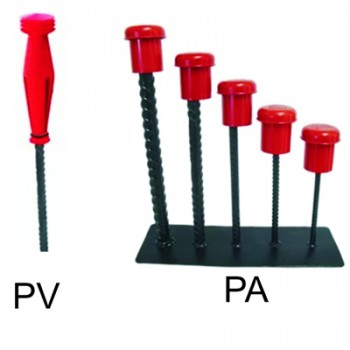 Protetor Ferragens Vermelho PP ou PA