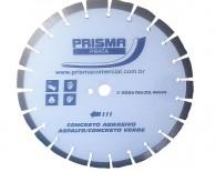 Disco Diamantado Segmentado 350mm PRATA Prisma