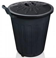 Cesto Lixo 100 litros Simples c/Tampa