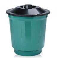 Cesto Lixo  20 litros Simples c/Tampa