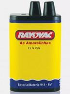 Bateria 6V Rayovac para Lanterna