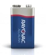 Bateria 9V ALCALINA Rayovac/Energizer/Philips