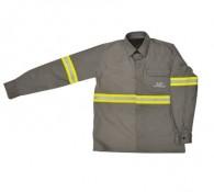 Camisa Anti-Chama Arco Elétrico Risco II  NR10 Cinza GG