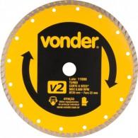 Disco Diamantado 110mm Turbo V2 Vonder