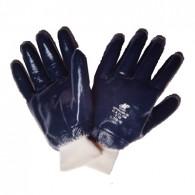 Luva Malha Banho Nitrílico Azul KA30 G Kalipso